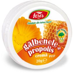 Crema Galbenele si Propolis (P117) 20g FARES