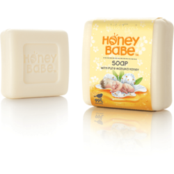 Honey Babe - Sapun Solid Extra Bland pentru Bebelusi cu Miere de Manuka 100g