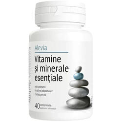 Vitamine Si Minerale Esentiale 40 cpr ALEVIA