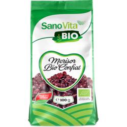 Merisoare Confiate Ecologice/Bio 100g SANOVITA