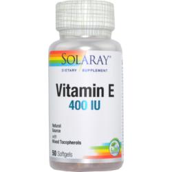 Vitamina E 400UI 50cps SOLARAY